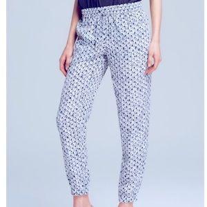 MK Printed Jogger Dress Pants
